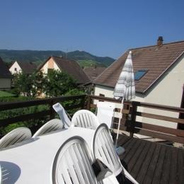 chambre 1 lit 140 cm - Location de vacances - Wintzenheim
