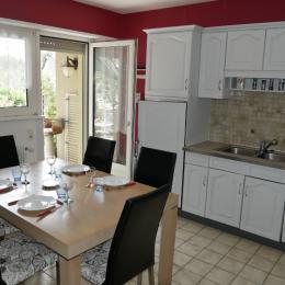 Vue de la rue Oberreiner et les Vosges en arrière plan - Location de vacances - Cernay