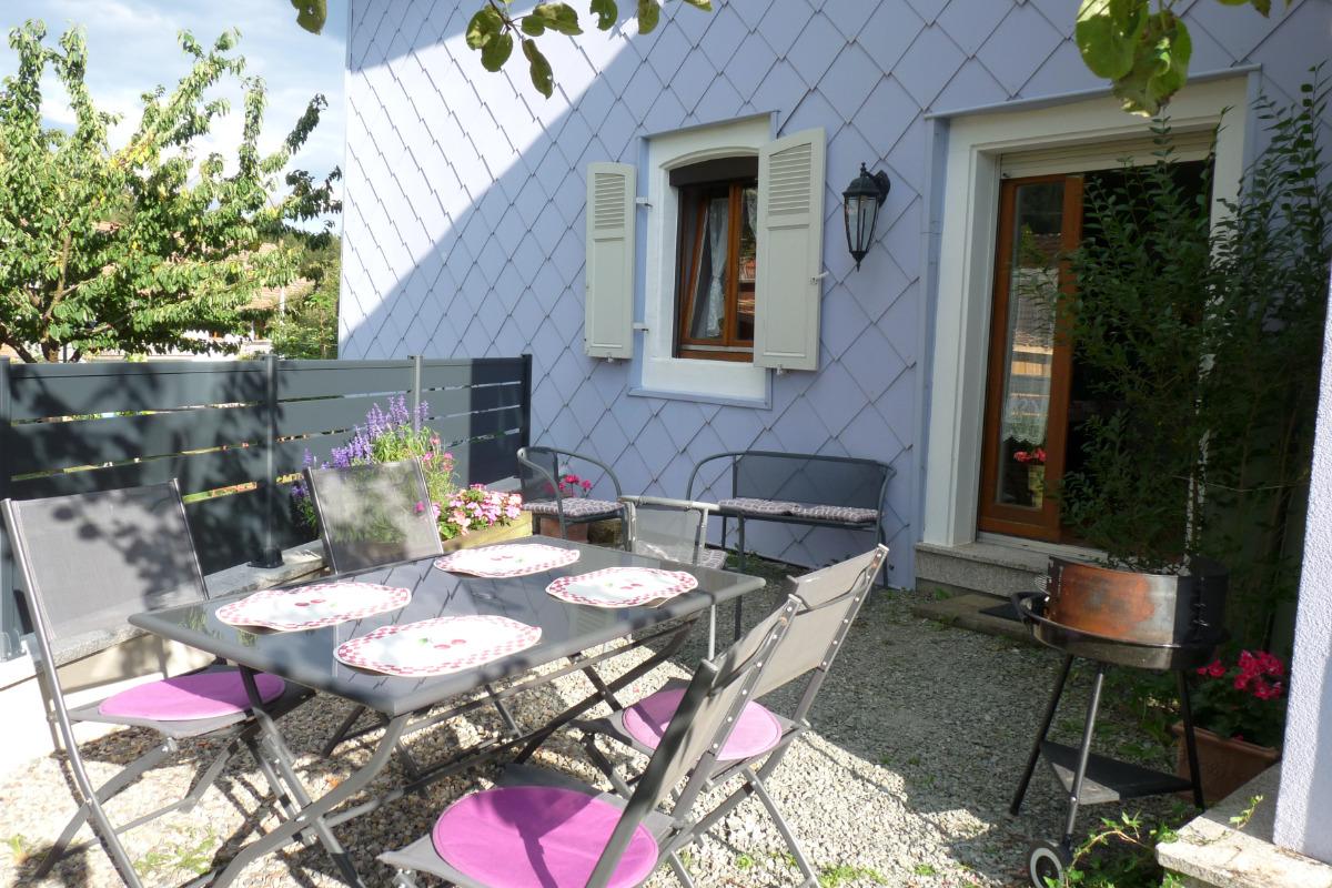 terrasse - Location de vacances - Sewen