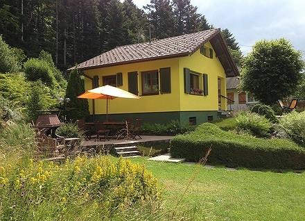 terrasse avec barbecue - Location de vacances - Sewen