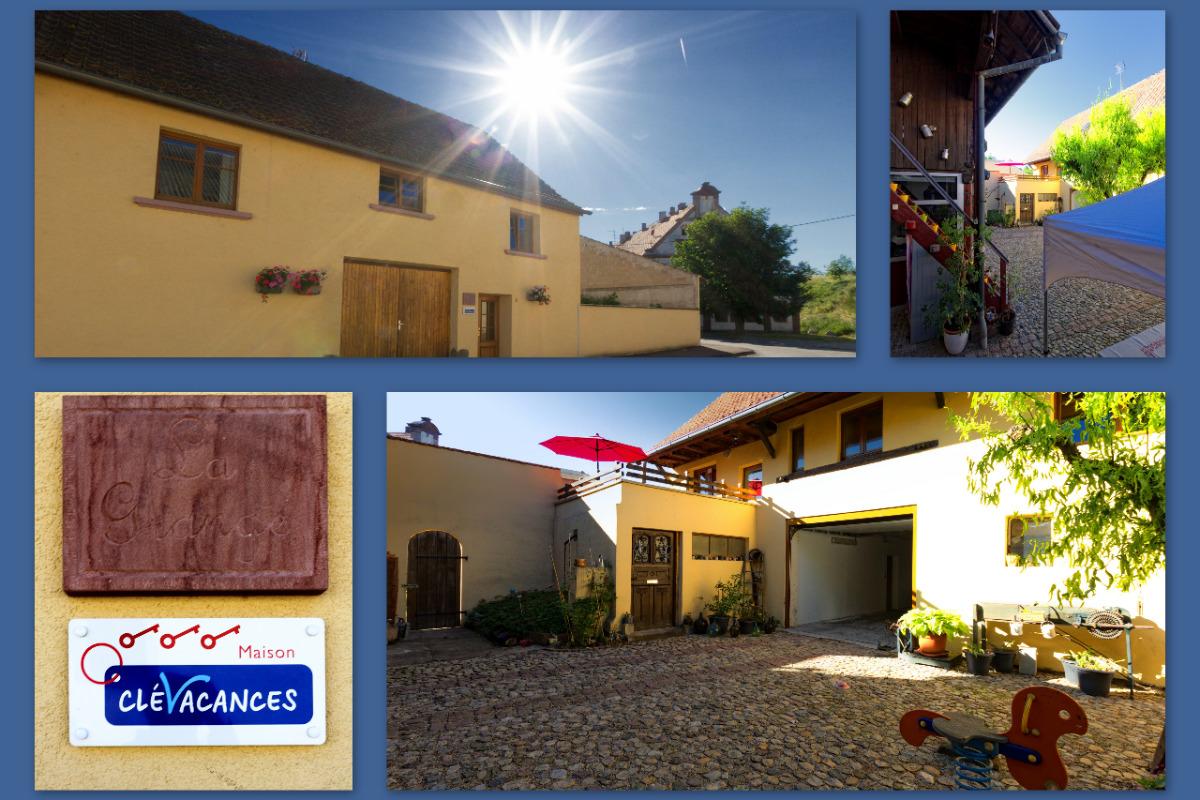Gîte La Grange - Location de vacances - Neuf-Brisach
