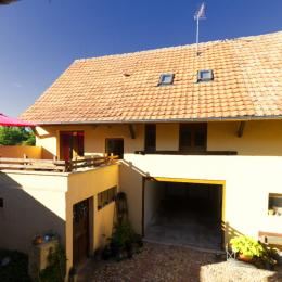 Coté cour - Location de vacances - Neuf-Brisach