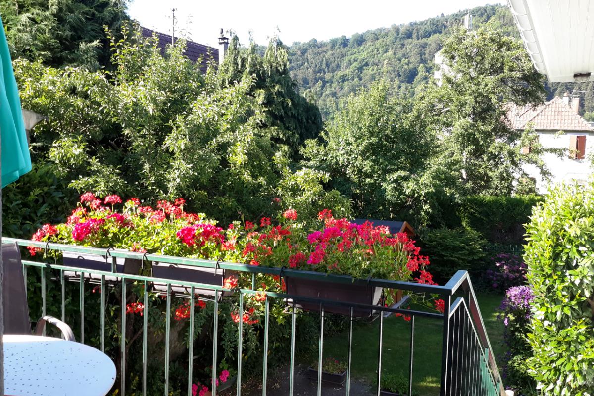 vue depuis la terrasse - Location de vacances - Saint-Amarin