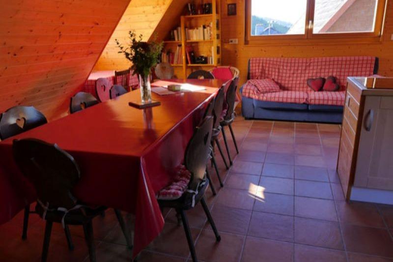 façade avant du gîte du côté de la rue Saint Michel - Location de vacances - Bourbach-le-Haut