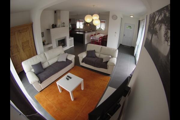 vue d'ensemble du living - Location de vacances - Walbach