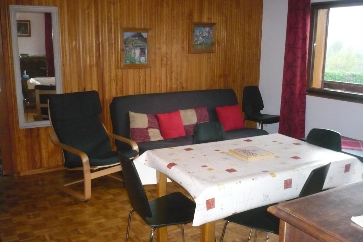 Salon - Salle à manger - Location de vacances - Metzeral
