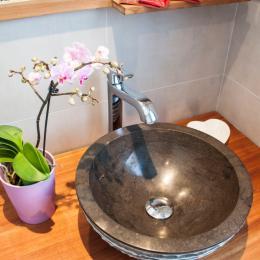 salle de bain - Chambre d'hôtes - Hunawihr