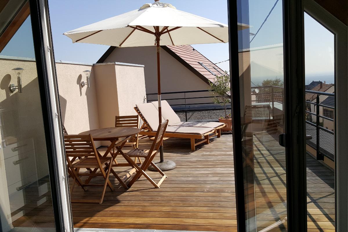 façade sud - Location de vacances - Vœgtlinshoffen