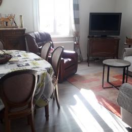 Cour intérieur  avec  barbecue,  relax  et  salon de jardin  - Location de vacances - Eguisheim