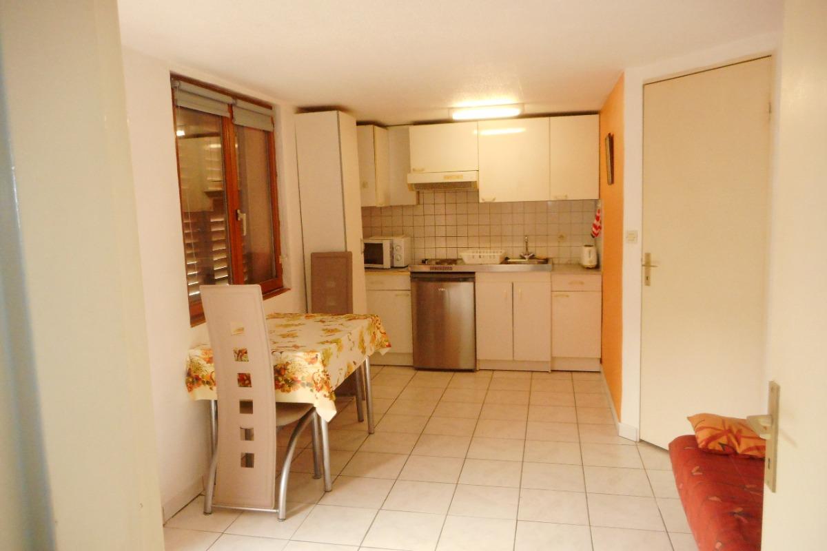 cuisine / séjour - Location de vacances - Volgelsheim