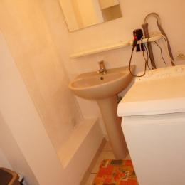 coin toilette / lave linge/wc - Location de vacances - Volgelsheim