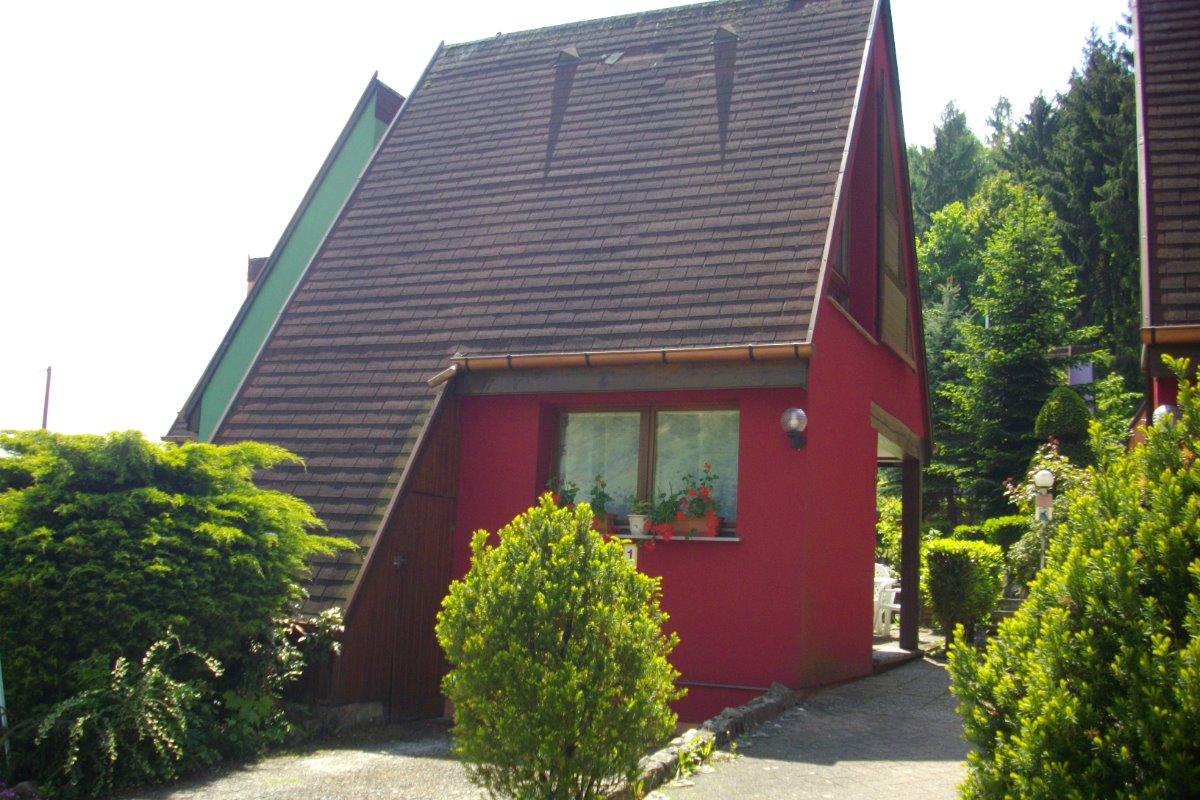 Pavillon Pinot Noir et sa place de parking devant - Location de vacances - Kaysersberg