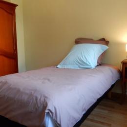 CHAMBRE AVEC 2 LITS SIMPLES 90x190 cm - Location de vacances - Ribeauvillé