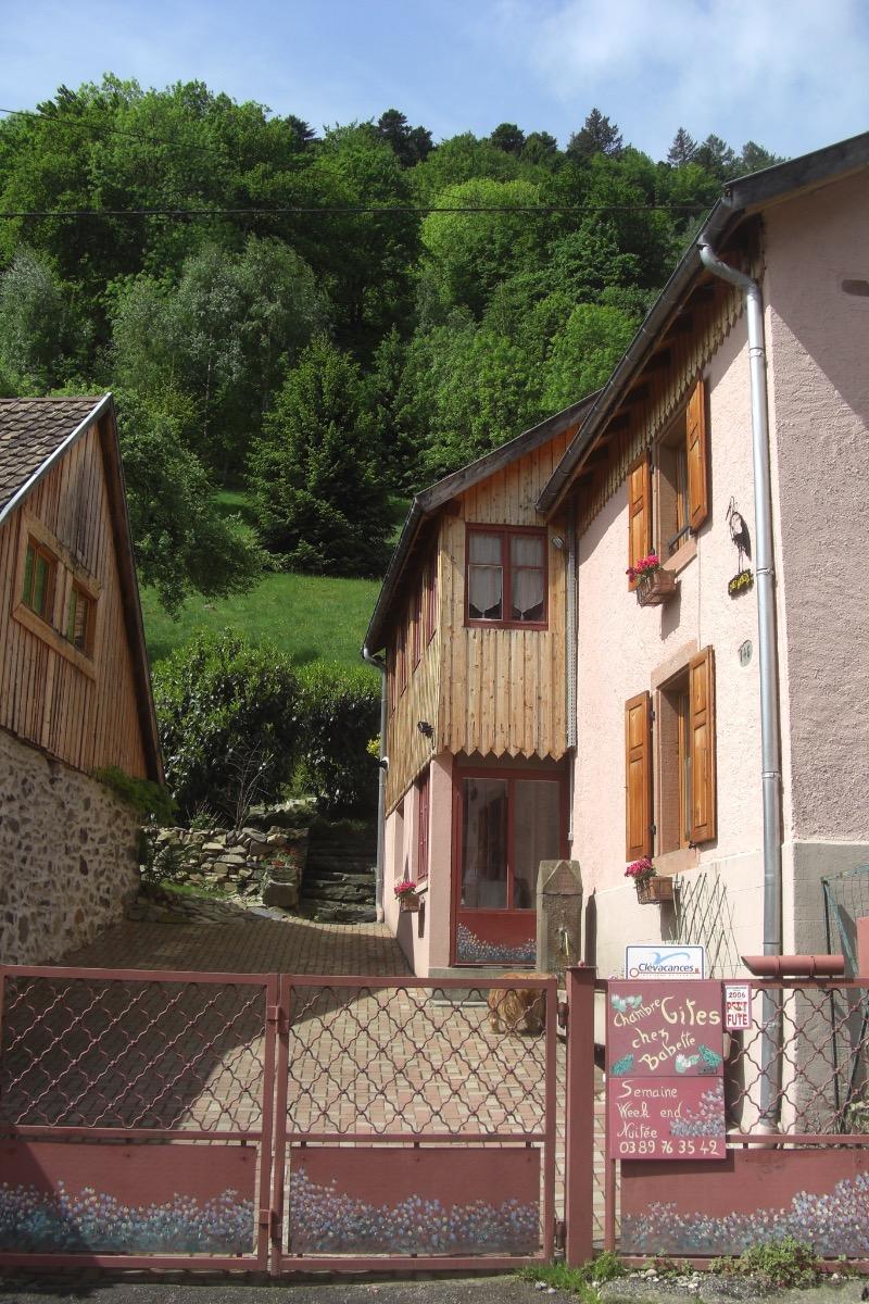 entrée - Chambre d'hôtes - Linthal