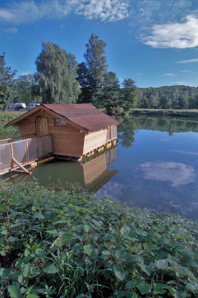 Accès cabane flottante - Location de vacances - Burnhaupt-le-Haut