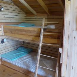 Lits superposés - Location de vacances - Burnhaupt-le-Haut
