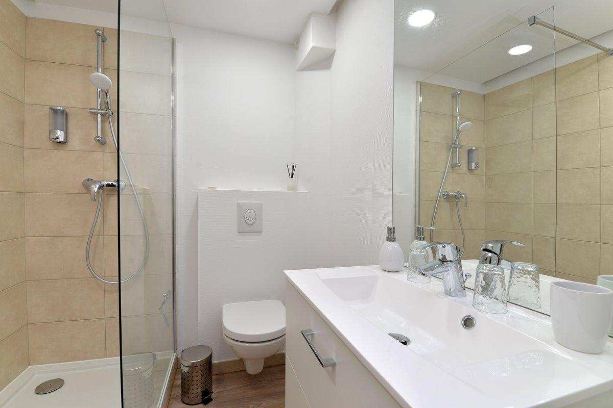 La salle d'eau - Location de vacances - Colmar