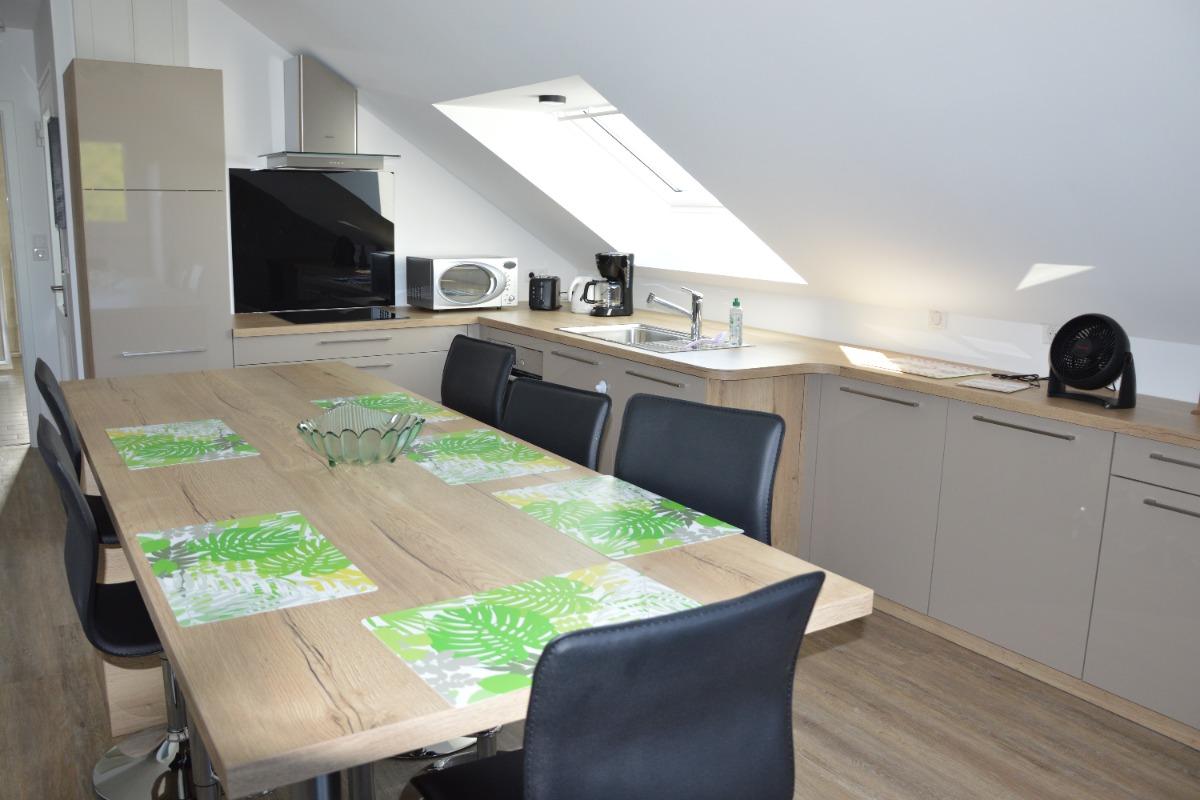 Entrée principale et terrasse - Location de vacances - Colmar