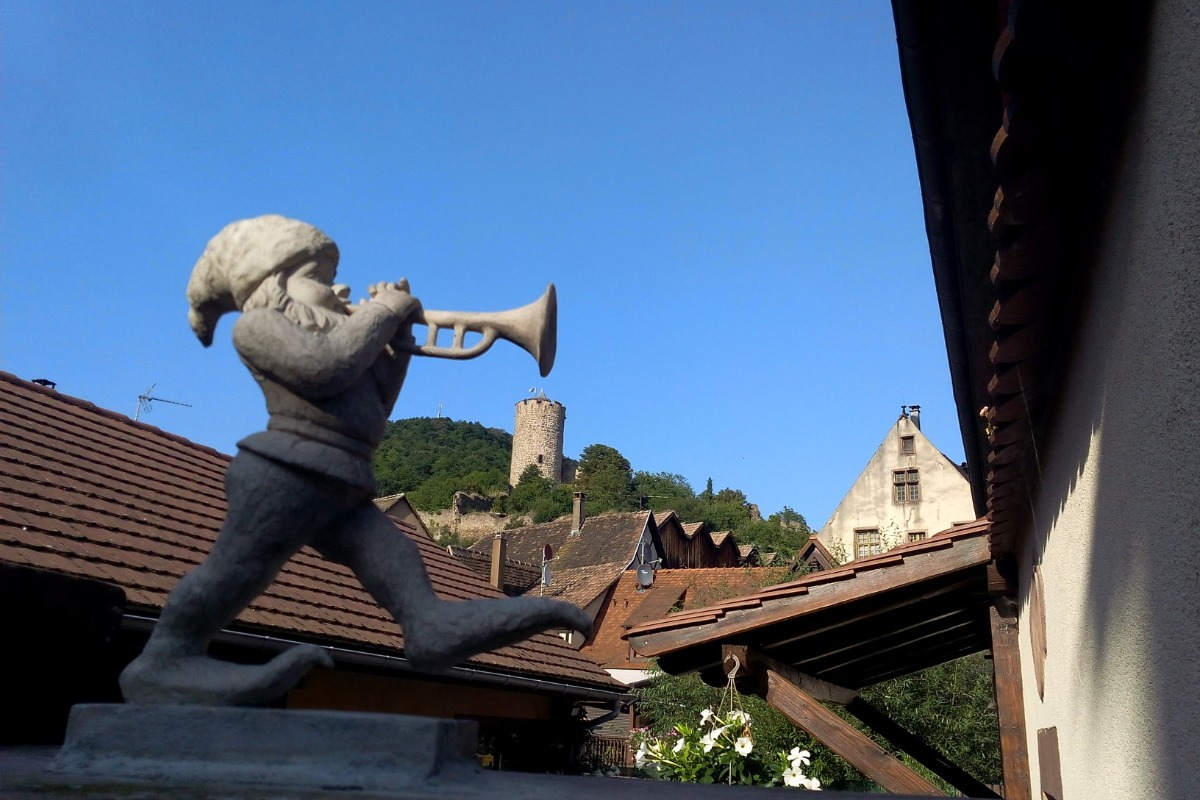 Le Nain de la maison Rouge  - Location de vacances - Kaysersberg