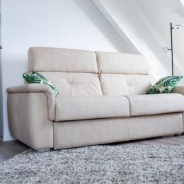 Canapé lit - Location de vacances - Riquewihr