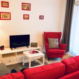 Salle d'eau avec douche à l'italienne - Location de vacances - Colmar
