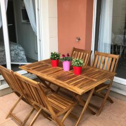 Vue depuis la terrasse - Location de vacances - Colmar