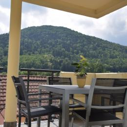 terrasse - Location de vacances - Kaysersberg