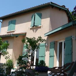 terrasse - Chambre d'hôtes - Francheville