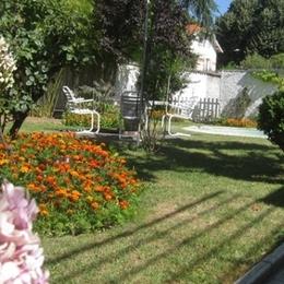 jardin - Chambre d'hôtes - Lyon