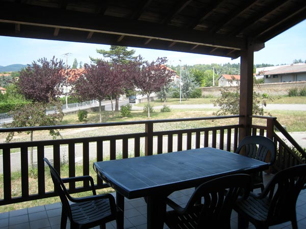 terrasse - Location de vacances - Vaugneray
