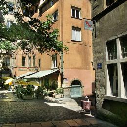 Vue de la fenêtre - Location de vacances - Lyon