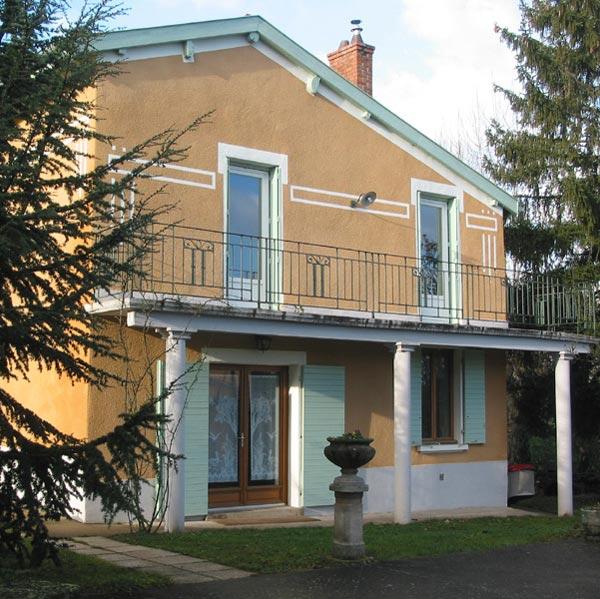 bâtiment - Location de vacances - Chaponost