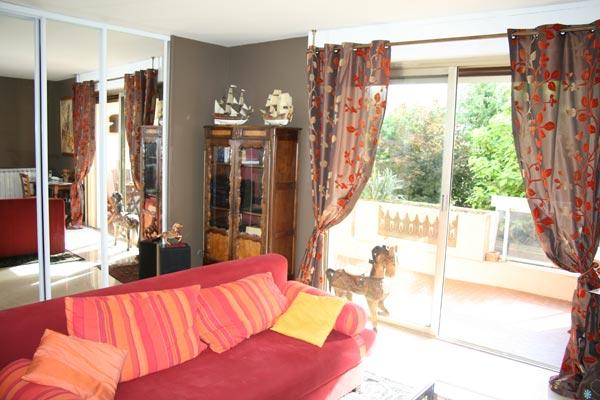 salle de séjour - Location de vacances - Lyon