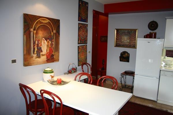 salle à manger - Location de vacances - Lyon