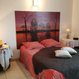 Chambre Savane - Location de vacances - Saint-Genis-Laval