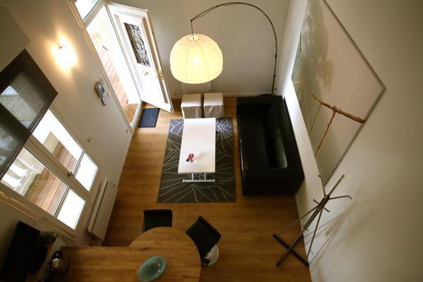 salon coin bar - Location de vacances - Lyon