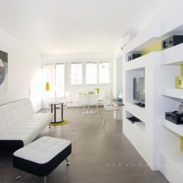 Salon 1 - Location de vacances - Lyon