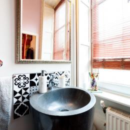 La salle de bain - Chambre d'hôtes - Lyon
