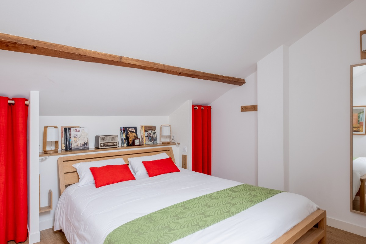 Chambre - Location de vacances - Lyon