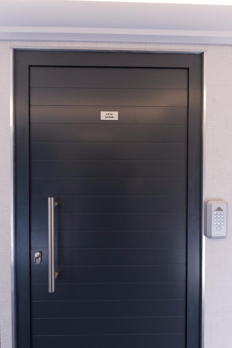 porte d'accès du studio côté Saône - Location de vacances - Lyon