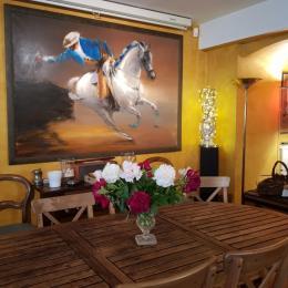 salle de bain privative, douche à l'italienne - Chambre d'hôtes - Lyon