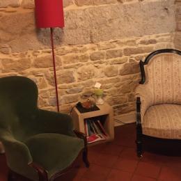 Coin salon des Allées de Bellecour côté cour - Chambre d'hôtes - Lyon