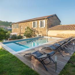 Gite La Chouette étoilée - Location de vacances - Vaux-en-Beaujolais