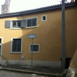 façade rue de La Laurentine - Chambre d'hôtes - Lyon