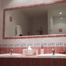 Salle de bain Ouvèze - Chambre d'hôtes - Silhac