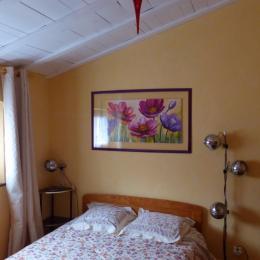 La chambre aux fleurs - Chambre d'hôtes - Ailhon