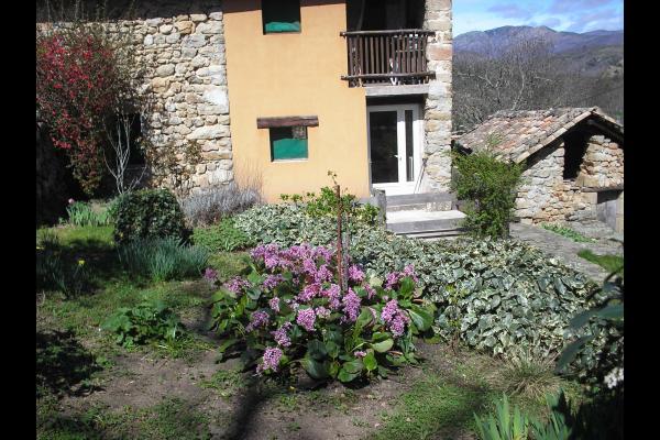 l'acce a la terrasse - Location de vacances - Meyras