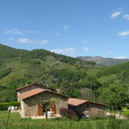vue sur les montagnes - Location de vacances - Meyras