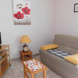 Terrasse privative - Location de vacances - Meyras