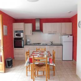 salle d'eau - Location de vacances - Meyras